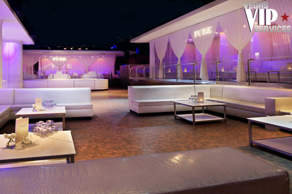 pure nightclub bottle service las vegas vip services. Black Bedroom Furniture Sets. Home Design Ideas
