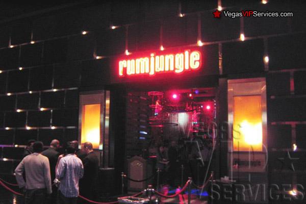 Rumjungle Nightclub Bottle Service Las Vegas Vip Services