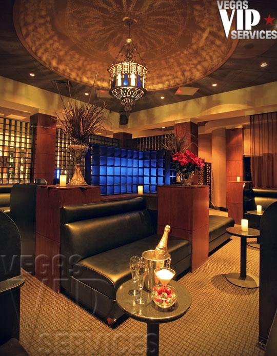 las vegas strip club table service